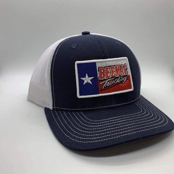 Richardson Mesh Snapback Trucker Caps with Texas Flag